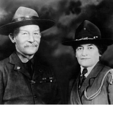 Juliette Gordon Low with Baden Powell